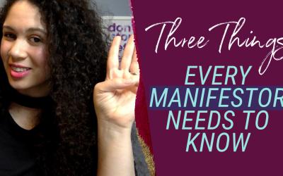 Three Things Every Manifestor Needs to Know