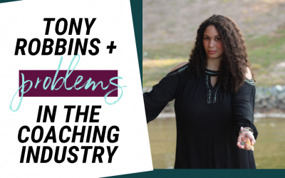 Tony Robbins + The Inherent Problems In Coaching