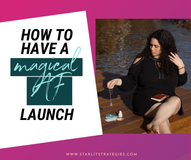 How to Have a Magical AF Launch